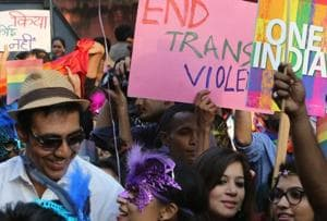Students of the third gender call for equality on campus.
