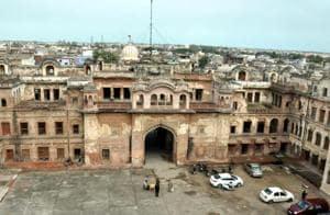 Qila Mubarak, Punjab CM CaptainAmarinder Singh's ancestrah house, in Patiala.