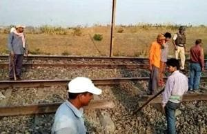 Maoists blow up railway track in Jharkhand, train movement hit
