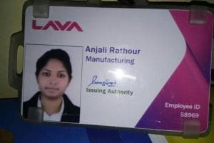 Trainee engineer Anjali Rathour was allegedly shot dead by an unidentified man, who was captured on CCTVcamera.