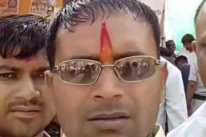 Nathu Ram Verma was shot dead when he was coming back from a meeting in Mehra Naharganj village.
