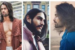 These Indian male models  have encashed on their tresses.