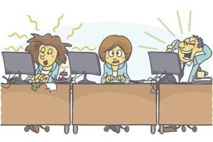 Noisy co-workers are a problem most of us have in common.