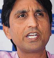 The party's national executive meeting on Sunday witnessed a 'heated atmosphere' over Kumar Vishwas.