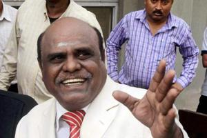 The Supreme Court had ordered the arrest of Justice CS Karnan.