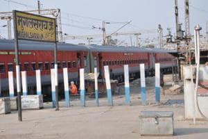 The Mughalsarai railway station building was constructed in 1880 and reconstructed in 1905.