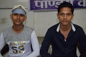Satish (left) and Vishal Agrahari are brothers who have cracked the Joint Entrance Examination (JEE) Advanced 2017.