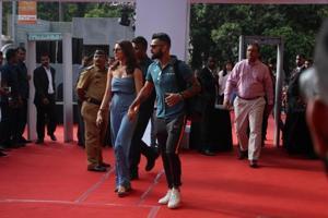 Virat Kohli talks about Anushka Sharma's lucky presence