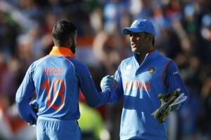 Indian skipper Virat Kohli has relied on MS Dhoni for both moral and tactical support as relations with coach Anil Kumble seem exceedingly strained.
