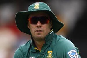 """It's hurting quite bad,"" says dejected South Africa skipper AB de Vill..."