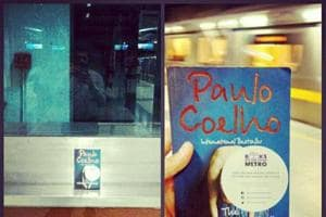 A Delhi-based couple hides  books on  metro stations to share the joys of reading.