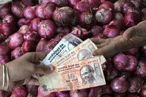 Many farmers started growing onions after their prices skyrocketed in 2014, leading to a significant increase in its area under cultivation. They, therefore, were caught unawares when the price fell this year.