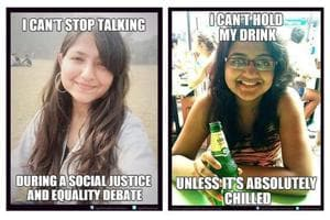 The campaign's memes feature real life women and their stories.