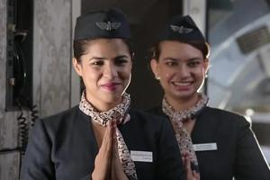 Air hostesses usually smile at passengers, but some passengers can make them cry.