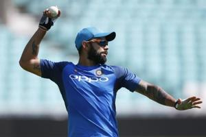 Virat Kohli has said that he is scared of getting hit on the face with a synthetic ball and that is the reason why he never played hockey.