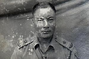 Ninglam Tankhul participated in World War II as part of the British army. He retired as a Subedar of the Indian army. He lives in Imphal
