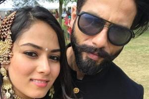Shahid Kapoor, Mira Rajput deck up like royalty for a wedding. See...