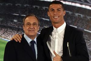 Cristiano Ronaldo won't quit Real  Madrid, says club president...