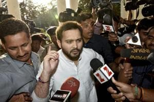 Where's the proof? Tejashwi Yadav hits back over tax notice