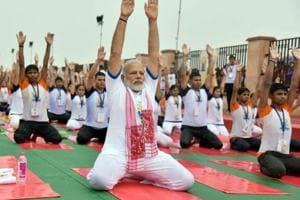 Private cos bend it in style, hop onto yoga bandwagon