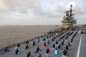 PHOTOS: International Yoga Day has India out and stretching