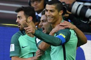 FIFA Confederations Cup: Cristiano Ronaldo strikes as Portugal down...