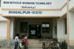 The building from where the Indian Institute of Information Technology (IIIT) will function at Bhagalpur in Bihar.