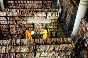 Funds of Rs 5 crore were announced for the establishment of the first e-library in Punjab at the Central Library in Patiala.
