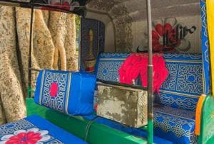 Delhi auto rickshaws get an artsy makeover in Dilli Haat and Ghalib...