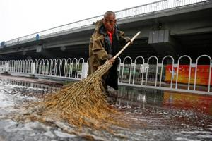 Beijing on yellow alert for floods, landslides till tomorrow