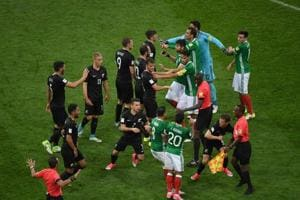 Mexico recover to beat New Zealand in fiery Confederations Cup game
