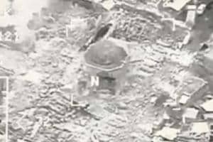 ISIS blows up al-Nuri mosque in Mosul where Baghdadi became 'caliph'