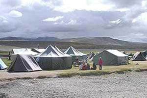 """A file photo of Manasarovar. The government said there was """"some difficulties"""" in the movement of Kailash Mansarovar yatra."""