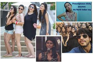 Amisha Bhardwaj, the bride who danced in shorts in her pre-wedding video; Merenla Imsong, who posted a  video on North-Eastern stereotypes; Saima Hussain Mir, the 'girl in the SRK selfie'; and Aranya Johar , who wrote 'A Brown Girl's Guide to Gender'  for Women's Day.