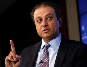 Former US attorney Preet Bharara lands book deal after ouster by Trump