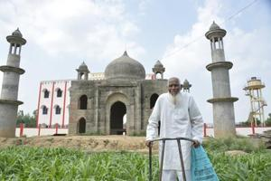 Retired UP postmaster sacrifices 'Taj Mahal' dream, donates land for...