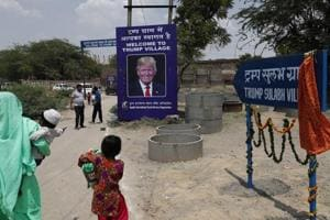 Rajasthan village takes on Trump's name for free toilets but doesn't...