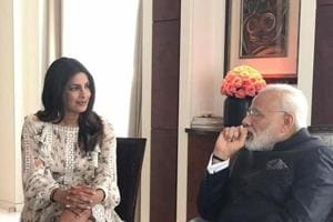 In Berlin this May, Priyanka Chopra shared a picture on Instagram of her meeting Prime Minister Narendra Modi.