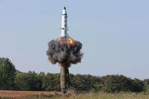 North Korea tests rocket engine, possibly for ballistic missile, say...