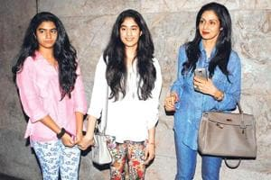It was misunderstood: Sridevi clarifies comment on daughter Jhanvi