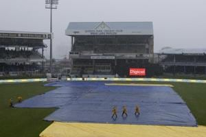 Rain forced the first ODI between India and West Indies in Port of Spain to be abandoned. Catch highlights of India vs West Indies 2017, 1st ODI here