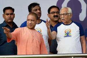 Uttar Pradesh chief minister Yogi Adityanath skips an iftar party governor Ram Naik hosted at Raj Bhawan on Friday.