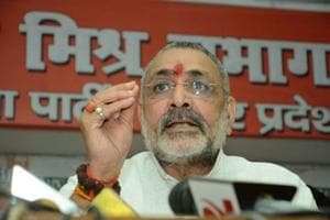 Need population control law for communal harmony: Giriraj Singh