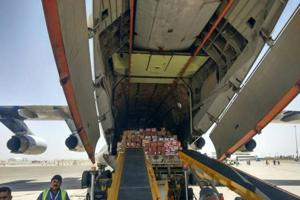 Second flight in Afghanistan-India air corridor takes off from...