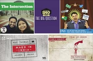 We have a list of five amazing podcasts for you to choose from.