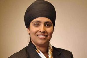 Palbinder Kaur Shergill becomes first turbaned Sikh woman to be...