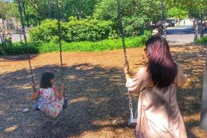 Abhishek Bachchan posts adorable pic of Aishwarya playing with...