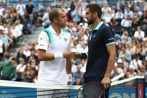 Marin Cilic downs Gilles Muller to reach Queen's Club Championship...