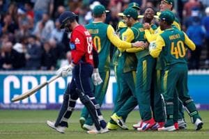 South Africa fight back to level T20 series against England
