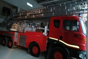 Ghaziabad fire dept gets its first hydraulic platform